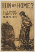 Military & Patriotic:WWI, WWI Home Front Poster: Two Classic Liberty Bond Posters.... (Total:2 Items)