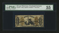 Fractional Currency:Third Issue, Fr. 1372 50¢ Third Issue Justice PMG About Uncirculated 55....
