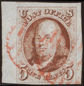 Stamps, 5¢ Red Brown (1),...