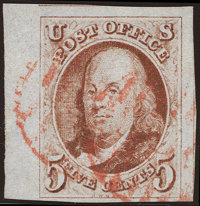 5¢ Red Brown (1)
