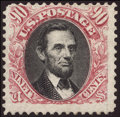 Stamps, 90¢ Carmine & Black, Without Grill (122a),...