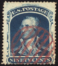 Stamps, 90¢ Blue (39),...