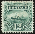 Stamps, 12¢ Green (117),...