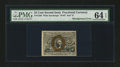 Fr. 1286 25¢ Second Issue PMG Choice Uncirculated 64 EPQ