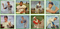 Baseball Cards:Sets, 1964 Auravision Baseball Records Complete Set (16)....