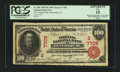 National Bank Notes:Virginia, Petersburg, VA - $100 1902 Red Seal Fr. 686 The Virginia NB Ch. #(S)7709. ...