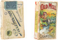"Baseball Collectibles:Others, Early 20th Century ""Piedmont"" and ""Old Mill"" Cigarette Pack Pair(2). ..."