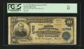 National Bank Notes:Virginia, Big Stone Gap, VA - $10 1902 Plain Back Fr. 633 The First NB Ch. #11765. ...
