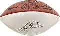 Football Collectibles:Balls, Troy Aikman Single Signed Football. ...