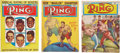Boxing Collectibles:Memorabilia, Vintage Ring Magazine Collection Lot Of 3. ...