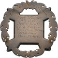 Military & Patriotic:Civil War, New York Chaplain's 10th Corps Badge....