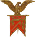Military & Patriotic:Civil War, Very Rare Kilpatrick Cavalry Division Badge by Tiffany....