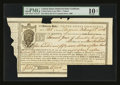 Large Size:Demand Notes, United States Loan-Office State of Virginia Deferred DebtCertificate $1,457.18 Feb. 1, 1806 PMG Very Good 10 Net...