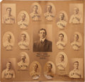 Baseball Collectibles:Photos, 1903 New York Giants Photographic Composite by Carl Horner....