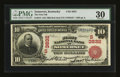 National Bank Notes:Kentucky, Somerset, KY - $10 1902 Red Seal Fr. 615 The First NB Ch. #(S)3832. ...
