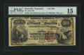National Bank Notes:Tennessee, Knoxville, TN - $10 1882 Brown Back Fr. 485 The Third NB Ch. #(S)3708. ...