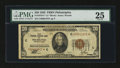 Small Size:Federal Reserve Bank Notes, Fr. 1870-C* $20 1929 Federal Reserve Bank Note. PMG Very Fine 25.. ...