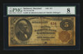 National Bank Notes:Maryland, Baltimore, MD - $5 1882 Brown Back Fr. 466 The Second NB Ch. # 414....