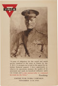 Military & Patriotic:WWI, WWI Home Front Posters: Two Excellent Posters.... (Total: 2 Items)