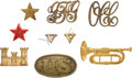 Military & Patriotic:Civil War, Fine Insignia Grouping.... (Total: 9 Items)