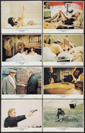 """Movie Posters:Crime, Get Carter (MGM, 1971). Lobby Card Set of 8 (11"""" X 14""""). Crime..... (Total: 8 Items)"""