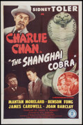 "Movie Posters:Mystery, The Shanghai Cobra (Monogram, 1945). One Sheet (27"" X 41"").Mystery.. ..."