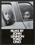 "Movie Posters:Documentary, Films by John Lennon and Yoko Ono (John Lennon and Yoko Ono, 1972). Herald (4.5"" X 6""). Documentary.. ..."