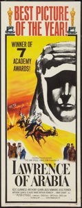 "Movie Posters:Academy Award Winners, Lawrence of Arabia (Columbia, 1962). Insert (14"" X 36"") AcademyAwards Style B. Academy Award Winners.. ..."