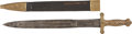 Military & Patriotic:Civil War, U.S. M1833 Foot Artillery Sword with Great ID to a Member of the 9th Ohio Battery. ... (Total: 2 Items)