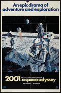 """Movie Posters:Science Fiction, 2001: A Space Odyssey (MGM, 1968). One Sheet (27"""" X 41"""") Style B.Science Fiction.. ..."""