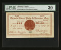 Canadian Currency: , Grand River, Canada- Grand River Pulp & Lumber Co. Limited $1NL30-10-02. ...