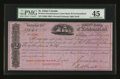 Canadian Currency: , St. Johns, Newfoundland- Union Bank of Newfoundland Second Exchange£33 6/8 July 20, 1883. ...