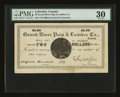 Canadian Currency: , Grand River, Canada- Grand River Pulp & Lumber Co. Limited $2NL30-10-04. ...