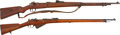Military & Patriotic:WWI, German and French Mid-WWI Production Bolt Action Rifles.... (Total:2 Items)
