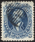 Stamps, 90¢ Blue (72),...