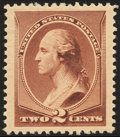 Stamps, 2¢ Red Brown (210),...