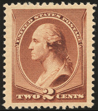 2¢ Red Brown (210)