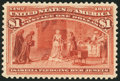 Stamps, $1 Salmon (241),...
