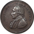 Colonials, Undated PENNY Washington Liberty & Security Penny, Corded Rim MS65 Brown NGC....