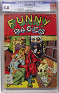 Golden Age (1938-1955):Miscellaneous, Funny Pages #36 (Centaur, 1940) CGC VG 4.0 Off-white pages....
