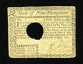 Colonial Notes:New Hampshire, New Hampshire April 29, 1780 $2 POC Very Fine-Extremely Fine....