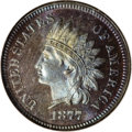 Proof Indian Cents, 1877 1C PR66 Red and Brown NGC....
