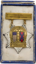Military & Patriotic:Civil War, Doubtless the Rarest of the Gettysburg 75th Reunion Medals, Possibly the Only Example Extant and Certainly the Only Example We...