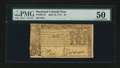 Colonial Notes:Maryland, Maryland April 10, 1774 $2 PMG About Uncirculated 50....