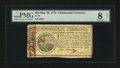 Colonial Notes:Continental Congress Issues, Continental Currency May 10, 1775 $20 PMG Very Good 8 Net....