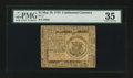 Colonial Notes:Continental Congress Issues, Continental Currency May 10, 1775 $1 PMG Choice Very Fine 35....