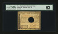 Colonial Notes:New Hampshire, New Hampshire April 29, 1780 $4 PMG Uncirculated 62....