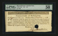 Colonial Notes:Massachusetts, Massachusetts 1781 $16 PMG About Uncirculated 50....