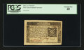 Colonial Notes:New York, New York March 5, 1776 $1/6 PCGS Extremely Fine 40....
