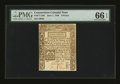 Colonial Notes:Connecticut, Connecticut June 1, 1780 9d PMG Gem Uncirculated 66 EPQ....